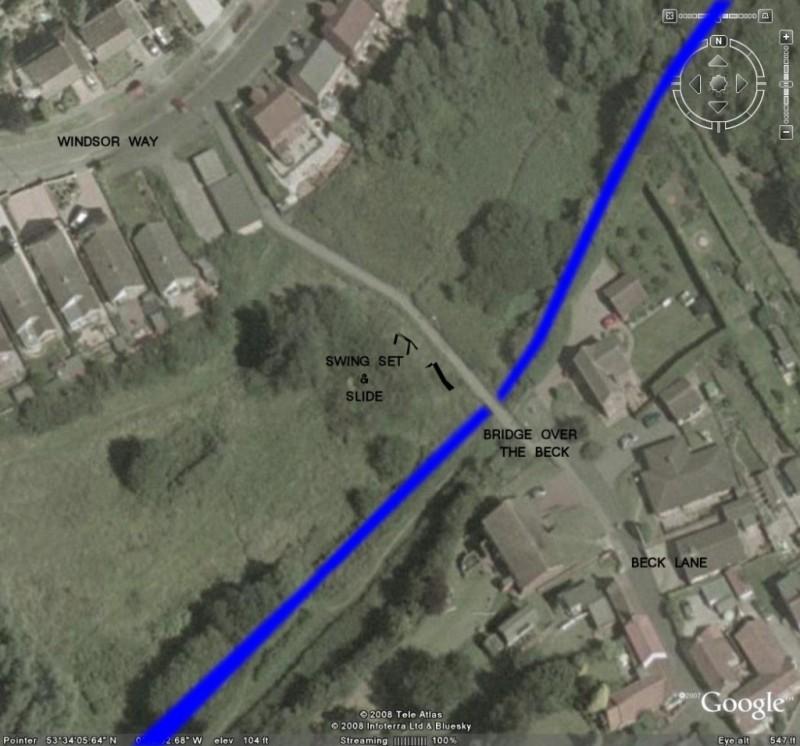 Windsor Way connecting Beck Lane