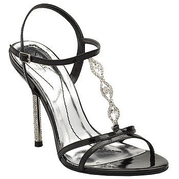 prom shoes black. Black heels with silver